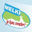 Flyer in de vorm van een melkpak