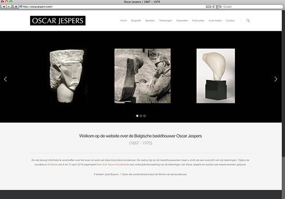 website Oscar Jespers