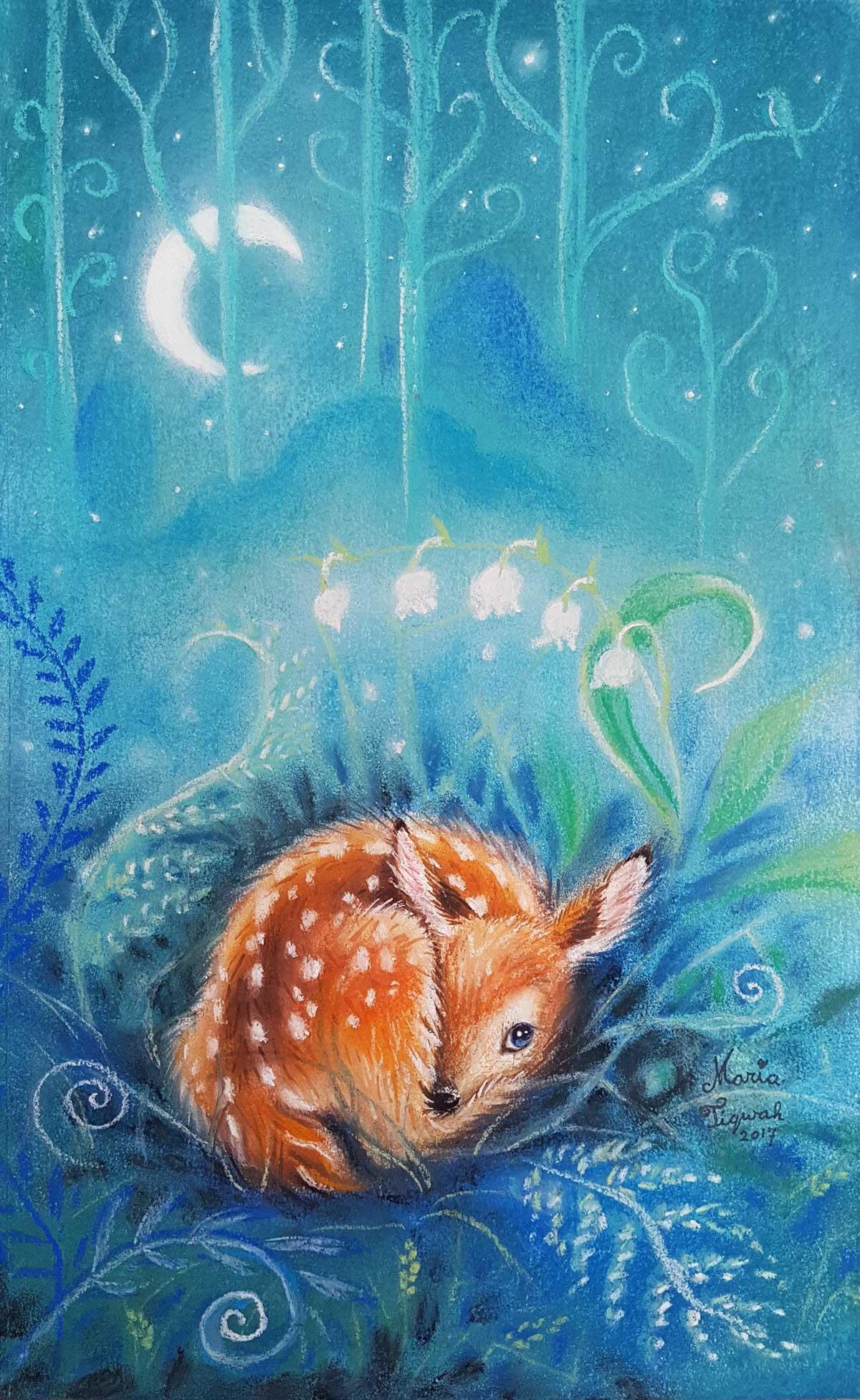 dreaming deer
