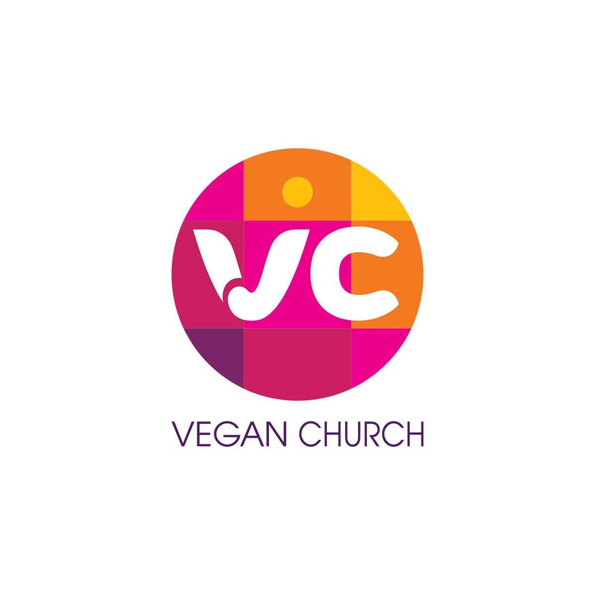 logo vegan church